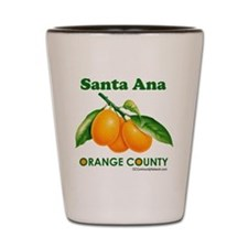Santa Ana, Orange County Shot Glass