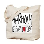 Harmony Is For Lovers Tote Bag