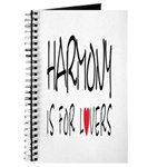 Harmony Is For Lovers Journal