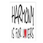 Harmony Is For Lovers Postcards (Package of 8)