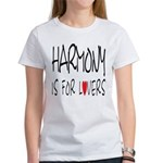 Harmony Is For Lovers Women's T-Shirt
