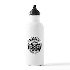 USN Hospital Corpsman Skull H Water Bottle