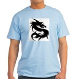 Scratch Dragon Ash Grey T-Shirt