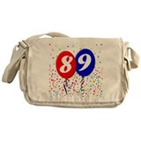 89th Birthday Messenger Bag