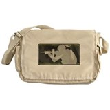 SUBDUED SNIPER GIRL Messenger Bag