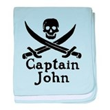 Captain John baby blanket