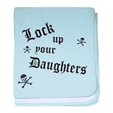 Lock Up Your Daughters baby blanket