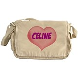 celine heart Messenger Bag