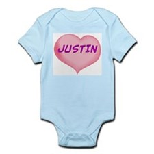 justin heart Infant Bodysuit