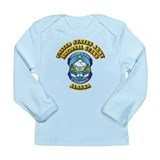 Army National Guard - Alaska Long Sleeve Infant T-