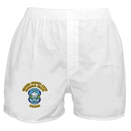 Army National Guard - Alaska Boxer Shorts