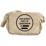 Cool News media Messenger Bag