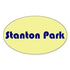 Stanton Park Oval Decal