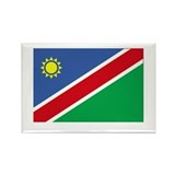 NAMIBIA - The Flag of Namibia Rectangle Magnet (10