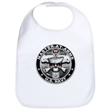 USN Master-At-Arms Skull MA Bib