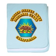 Army National Guard - California baby blanket