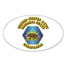 Army National Guard - California Decal