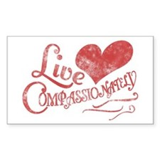 Heart Compassion Decal