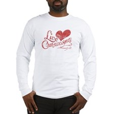 Heart Compassion Long Sleeve T-Shirt