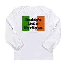 Daddy's Hooligan Flag Long Sleeve Infant T-Shirt