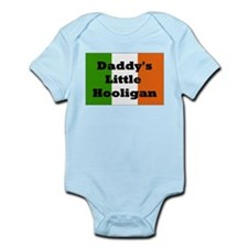 Daddy's Hooligan Flag Infant Bodysuit
