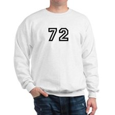 Number 72 Sweatshirt