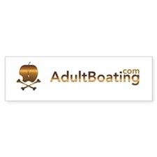AdultBoating Bumper Sticker