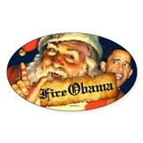 Fire Obama Decal