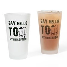 Cool Fight designs Drinking Glass