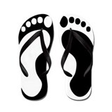 Cute Yin and yang Flip Flops