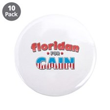 """Floridan for Cain 3.5"""" Button (10 pack)"""