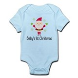 Baby's 1st Christmas Santa Infant Bodysuit
