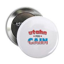 "Utahn for Cain 2.25"" Button"
