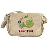 Personalized French Horn Messenger Bag