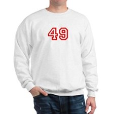 Number 49 Sweatshirt