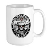 USN Operations Specialist Sku Mug