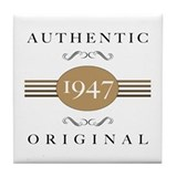 Authentic 1947 Tile Coaster