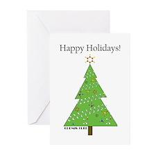 Chemis-Tree Greeting Cards (Pk of 20)
