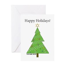 Chemis-Tree Greeting Card