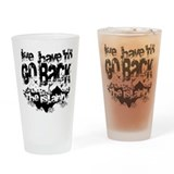Go Back Drinking Glass