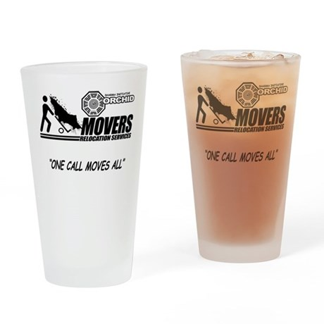 Orchid Movers LOST Drinking Glass