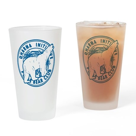 Dharma Polar Bear Club Drinking Glass