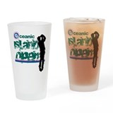 Oceanic Island Open Drinking Glass