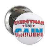"Clergyman for Cain 2.25"" Button"