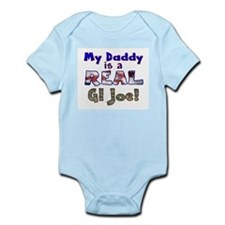 Real GI Joe Infant Bodysuit