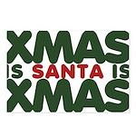 Santas Xmas Postcards (Package of 8)