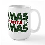 Santas Xmas Large Mug