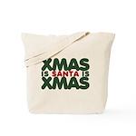 Santas Xmas Tote Bag