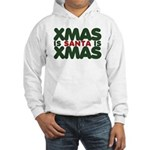 Santas Xmas Hooded Sweatshirt