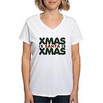 Santas Xmas Women's V-Neck T-Shirt